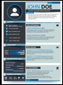 portfolio and resume website design