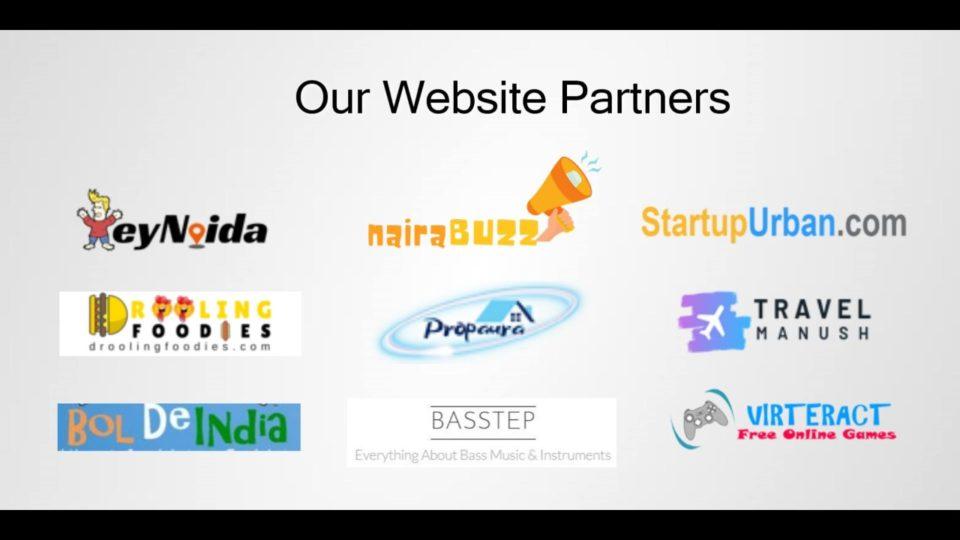 website partners
