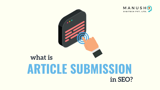 what is article submission in seo